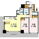 カスタリアタワー長堀橋 / 1205 部屋画像1