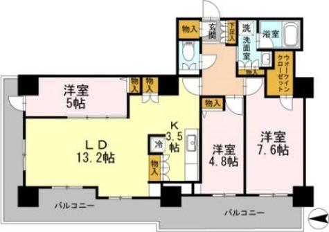 カスタリアタワー長堀橋 / 2402 部屋画像1