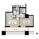 田町 5分マンション / 12f1 部屋画像1