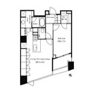 パークキューブ目黒タワー(旧アパートメンツタワー目黒) / 702 部屋画像1
