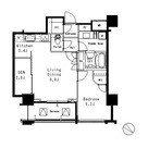 MFPR目黒タワー / 1706 部屋画像1