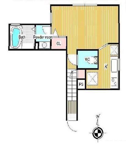 ラフォルテ白金 / 2階 部屋画像1