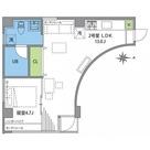 三田 5分マンション / 2f2 部屋画像1