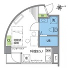 三田 5分マンション / 6f1 部屋画像1