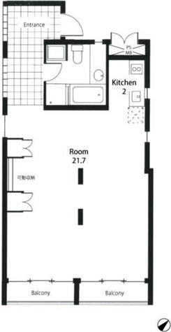 メゾン・デュ・ディズイット / 3階 部屋画像1