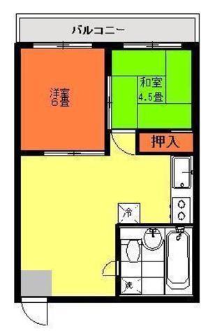 花房山ヒルズ / 502 部屋画像1