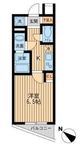 ユニフォート目黒中町 / 6 Floor 部屋画像1