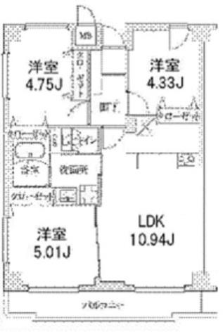 ヒルフォート目黒 / 6階 部屋画像1