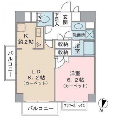 藤和自由が丘ホームズ / 6階 部屋画像1