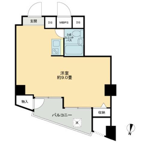 ライオンズマンション六本木 / 1階 部屋画像1