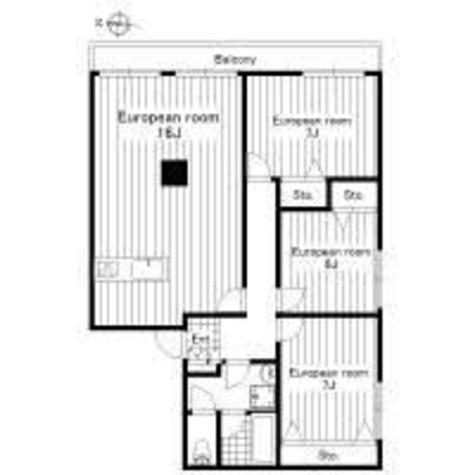 プラムアーク白金台 / 1階 部屋画像1