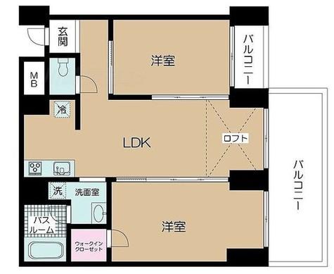コート向ヶ丘 / 1階 部屋画像1