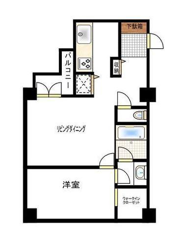 カーサフォーラム / 3階 部屋画像1