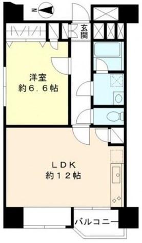 TS大森ハイム / 4 Floor 部屋画像1