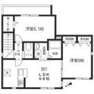 ラ・コリーヌ五反田 / 2f1 K 部屋画像1