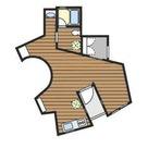 戸越 5分マンション / 2f1 部屋画像1
