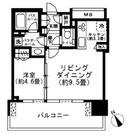 シティタワー目黒 / 13f9 部屋画像1
