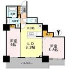 カスタリアタワー長堀橋 / 504 部屋画像1