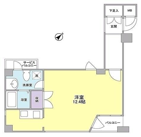 ARQ大森 / 405 部屋画像1