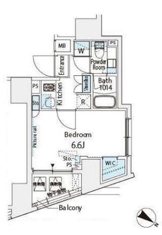 ベルファース西五反田 / 706 部屋画像1