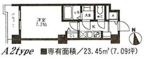 CYNTHIA Kamata R.(シンシア蒲田R) / A2タイプ 部屋画像1