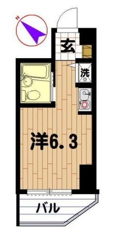 アーバンハイム不動前 / 1002 部屋画像1