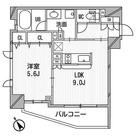 クリオ渋谷ラ・モード / Cタイプ 部屋画像1