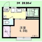 フォーブル・トワ / 202 部屋画像1