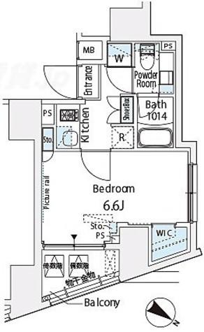 ベルファース西五反田 / 4階 部屋画像1