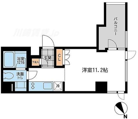 アーデン五反田 / Eタイプ 部屋画像1