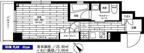 グランドコンシェルジュ多摩川アジールコート / Jタイプ 部屋画像1