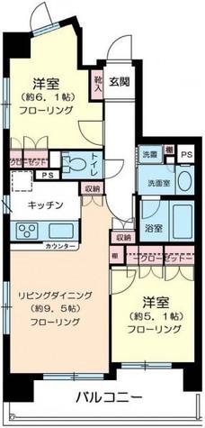 藤和シティホームズ島津山西 / 10階 部屋画像1