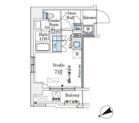 ベルファース武蔵小山 / 3階 部屋画像1