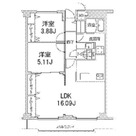 ヒルフォート目黒 / 405 部屋画像1