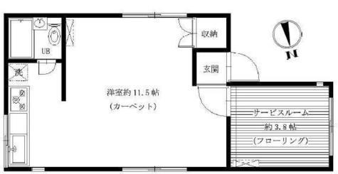 青柳ビル / 4階 部屋画像1