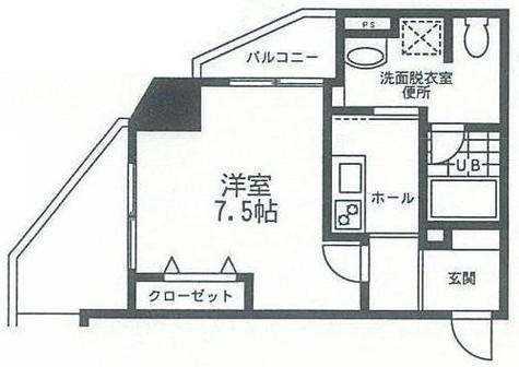 ジーコンフォートウエスト新横浜 / 1105 部屋画像1