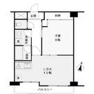 京王目黒マンション / 402 部屋画像1