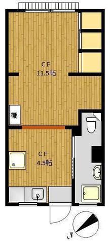 フローラ代官山 / 203 部屋画像1
