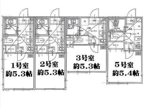 リーヴェルポート横浜南アジュール / 1階 部屋画像1