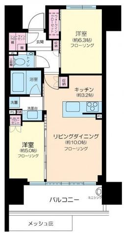シティハウス中目黒レジデンス / 1302 部屋画像1