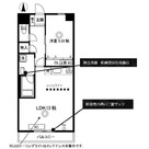 柿の木坂スカイパレス (平町1) / 702 部屋画像1