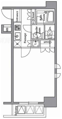 RESIDIA横濱関内(レジディア横浜関内) / 807 部屋画像1
