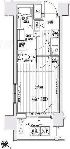 リライア西横浜 / 1102 部屋画像1
