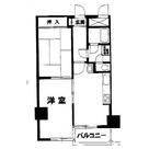 大森海岸 4分マンション / 6階 部屋画像1