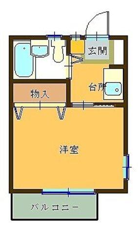 エートス貫井 / 103 部屋画像1