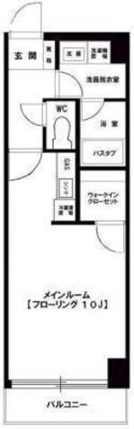 田町 8分マンション / 3階 部屋画像1