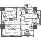 ザ・ヒルトップタワー高輪台 / 404 部屋画像1
