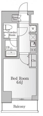 KANZE SHIBAURA RESIDENCE / 202 部屋画像1