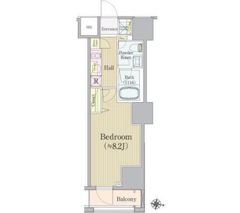 REX白金台 / 7階 部屋画像1