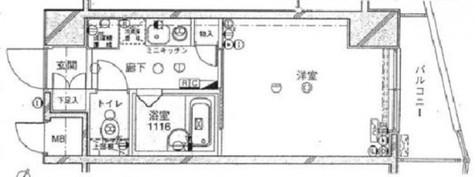 プレール学芸大学弐番館 / 304 部屋画像1